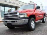 2001 Flame Red Dodge Ram 1500 SLT Regular Cab 4x4 #47445069