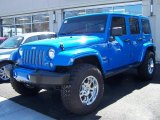 2011 Cosmos Blue Jeep Wrangler Unlimited Sahara 4x4 #47445668