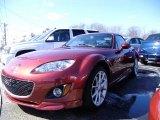 2009 Copper Red Mica Mazda MX-5 Miata Hardtop Grand Touring Roadster #47445670