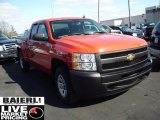 2009 Victory Red Chevrolet Silverado 1500 Extended Cab 4x4 #47444928