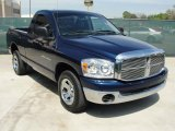 2007 Patriot Blue Pearl Dodge Ram 1500 ST Regular Cab #47445257