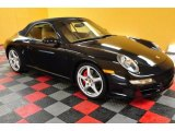 2007 Basalt Black Metallic Porsche 911 Carrera S Cabriolet #47445498
