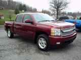 2009 Chevrolet Silverado 1500 Deep Ruby Red Metallic