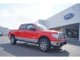 2011 Race Red Ford F150 XLT SuperCrew 4x4 #47445150