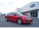 2011 Red Candy Metallic Ford Fusion Sport #47445151