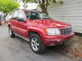 2002 Inferno Red Tinted Pearlcoat Jeep Grand Cherokee Overland 4x4 #47444982