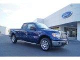 2011 Dark Blue Pearl Metallic Ford F150 XLT SuperCab #47445154