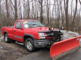 2004 Victory Red Chevrolet Silverado 1500 LS Regular Cab 4x4 #47445741