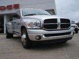 2007 Bright Silver Metallic Dodge Ram 3500 SLT Quad Cab Dually #47445564