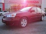 2007 Sport Red Metallic Chevrolet Malibu LT Sedan #47445307