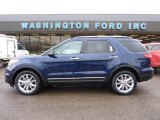 2011 Kona Blue Metallic Ford Explorer XLT 4WD #47445351