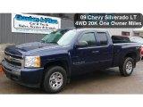 2009 Imperial Blue Metallic Chevrolet Silverado 1500 LT Extended Cab 4x4 #47445209