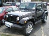 2011 Black Jeep Wrangler Sport S 4x4 #47498742