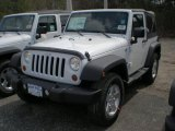 2011 Bright White Jeep Wrangler Sport S 4x4 #47498760
