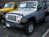 2011 Bright Silver Metallic Jeep Wrangler Sport 4x4 #47498771