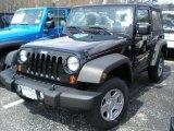 2011 Black Jeep Wrangler Sport 4x4 #47498772