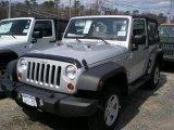 2011 Bright Silver Metallic Jeep Wrangler Sport 4x4 #47498778