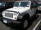 2011 Bright White Jeep Wrangler Sport S 4x4 #47498783