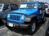 2011 Jeep Wrangler Cosmos Blue