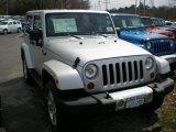 2011 Bright Silver Metallic Jeep Wrangler Sahara 4x4 #47498786