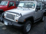 2011 Bright Silver Metallic Jeep Wrangler Sport 4x4 #47498789