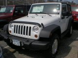 2011 Bright White Jeep Wrangler Sport S 4x4 #47498796
