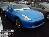 2009 Monterey Blue Nissan 370Z Sport Touring Coupe #47498645