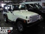 1997 Jeep Wrangler Stone White