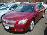 2011 Chevrolet Malibu Red Jewel Tintcoat