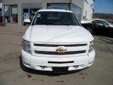 2011 Summit White Chevrolet Silverado 1500 LT Extended Cab 4x4 #47498884