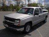 2004 Silver Birch Metallic Chevrolet Silverado 1500 Work Truck Extended Cab #47499193