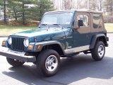 1998 Jeep Wrangler Emerald Green Pearl