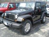 2011 Black Jeep Wrangler Sport S 4x4 #47498728