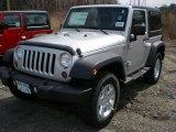 2011 Bright Silver Metallic Jeep Wrangler Sport S 4x4 #47498729