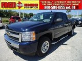 2011 Imperial Blue Metallic Chevrolet Silverado 1500 LS Extended Cab #47499210