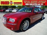 2008 Inferno Red Crystal Pearl Chrysler 300 C HEMI #47499214