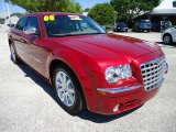 2008 Chrysler 300 Inferno Red Crystal Pearl