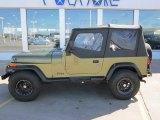 1992 Jeep Wrangler Sage Green