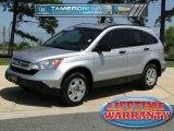 2009 Alabaster Silver Metallic Honda CR-V LX #47499232