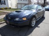 2002 True Blue Metallic Ford Mustang GT Coupe #47498953