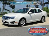 2010 White Suede Ford Fusion SEL #47499234