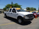 2004 Oxford White Ford F250 Super Duty XLT Crew Cab 4x4 #47499249