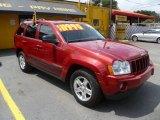 2006 Inferno Red Crystal Pearl Jeep Grand Cherokee Laredo #47499250
