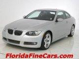2007 Titanium Silver Metallic BMW 3 Series 335i Coupe #4738178