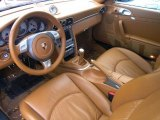 2007 Porsche 911 Targa 4S Natural Leather Brown Interior