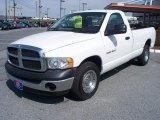 2005 Bright White Dodge Ram 1500 ST Regular Cab #47539422