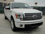 2011 White Platinum Metallic Tri-Coat Ford F150 Platinum SuperCrew #47539274