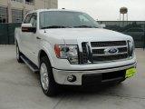 2011 White Platinum Metallic Tri-Coat Ford F150 Lariat SuperCrew #47539275