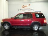 2003 Redfire Metallic Ford Explorer XLS 4x4 #4743029