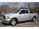 2010 Bright Silver Metallic Dodge Ram 1500 SLT Quad Cab 4x4 #47539481